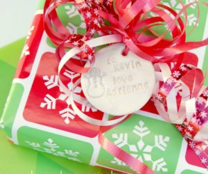 Hand made gift tag