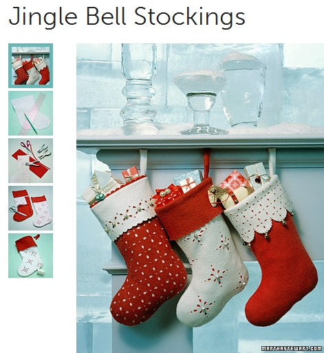 How to make jingle bell stocking diy step by tutorial