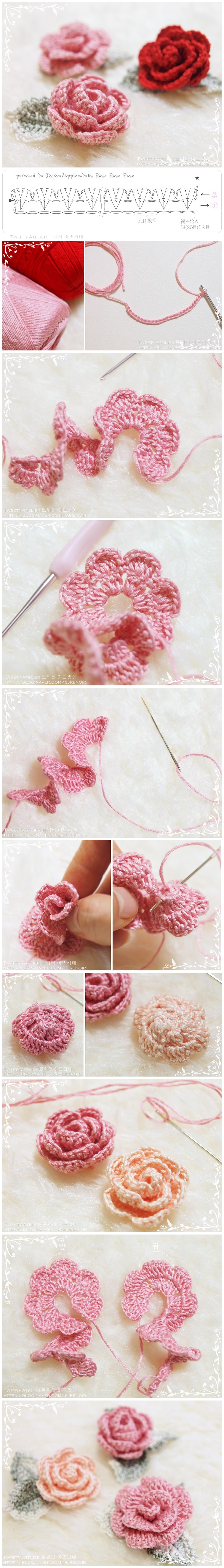 How-to-make-hand-knitted-rose