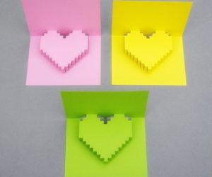 Making-3D-heart-shape-greeting-card
