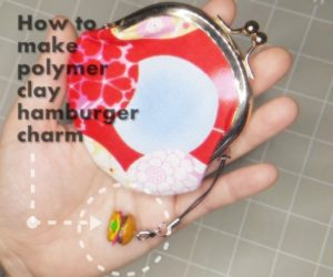 Polymer Clay Hamburger Charm Instruction