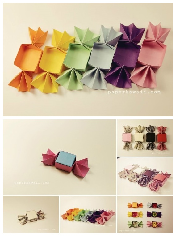 Candy Paper Box