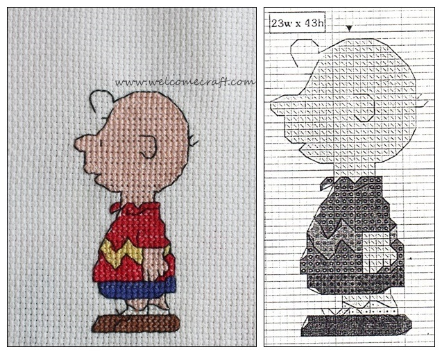 Charlie Brown Cross Stitch