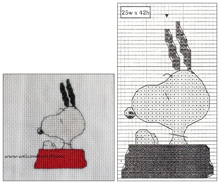 Cross Stitch Snoopy