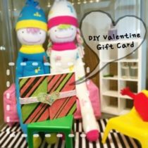 Hand Made Valentine Gift Card