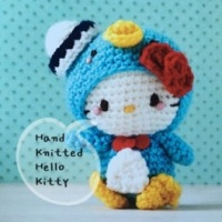 Hand Knitted Supercute Sanrio Character