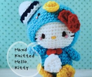 Hand Knitted Sanrio Character