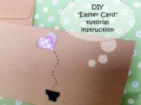 Easter Card DIY step by step tutorial