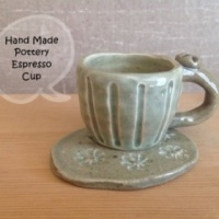 Hand Made Pottery Espresso Cup