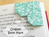 Origami Bookmark Instruction