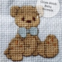 DIY Cross Stitch Baby Animals