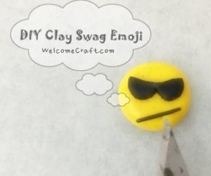 DIY Clay Swag Emoji
