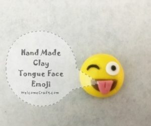 Clay Emoji Smile Face Instruction