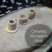 Hand Made Ceramic Mug Miniature