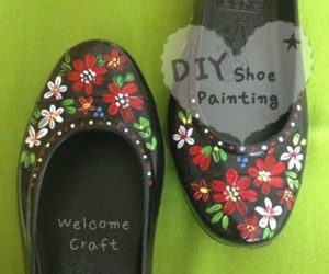 DIY Flower Painting