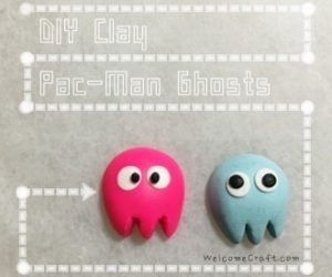 Clay Pac-Man Ghosts