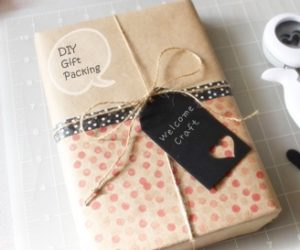 DIY Gift Packing