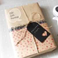 How to make easy Gift Packing DIY step by step tutorial instruction