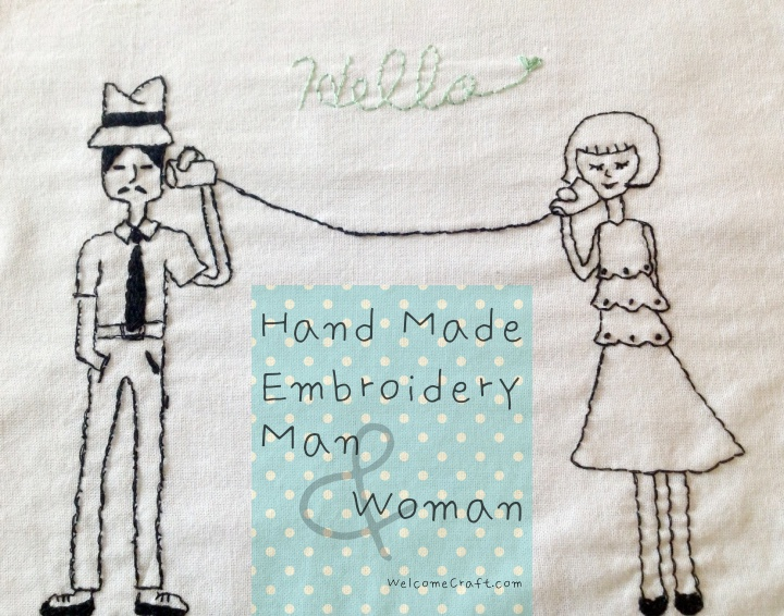 Embroidery Man and Woman