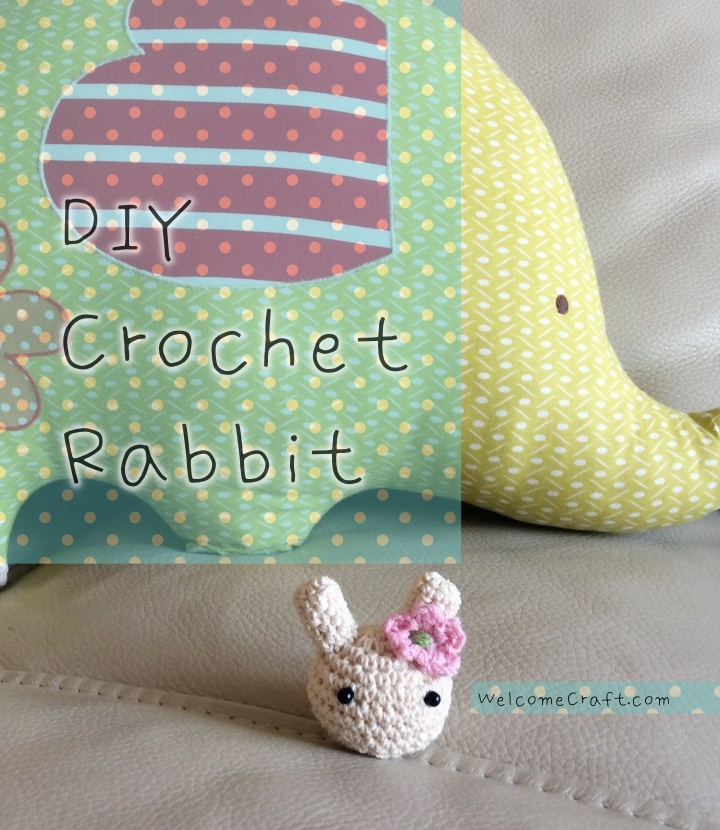 Hand Made Crochet Rabbit