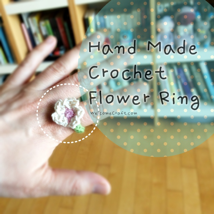 Hand Made Crochet Ring