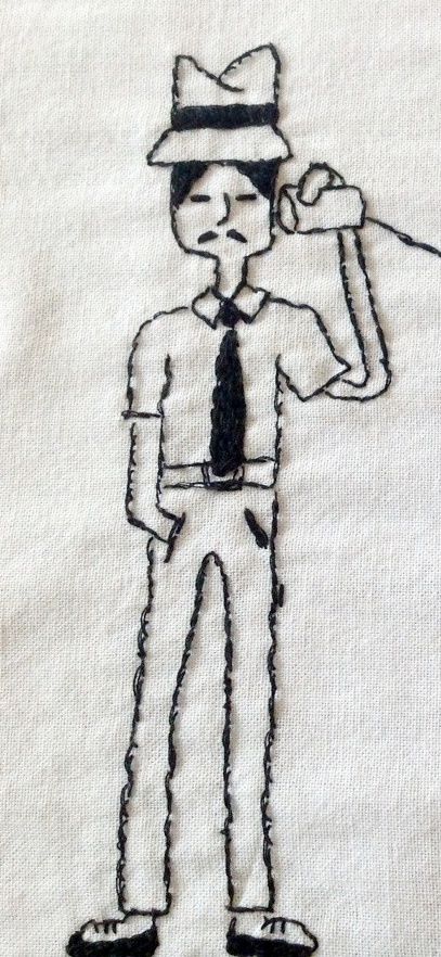 Embroidery Man