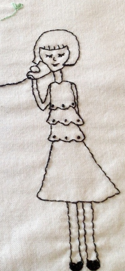 Embroidery Woman