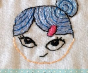 Hand Made Embroidery Girls