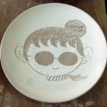 Hand Made Ceramic Cute Plate