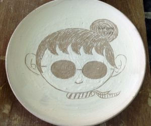 Hand Made Cute Ceramic Plate