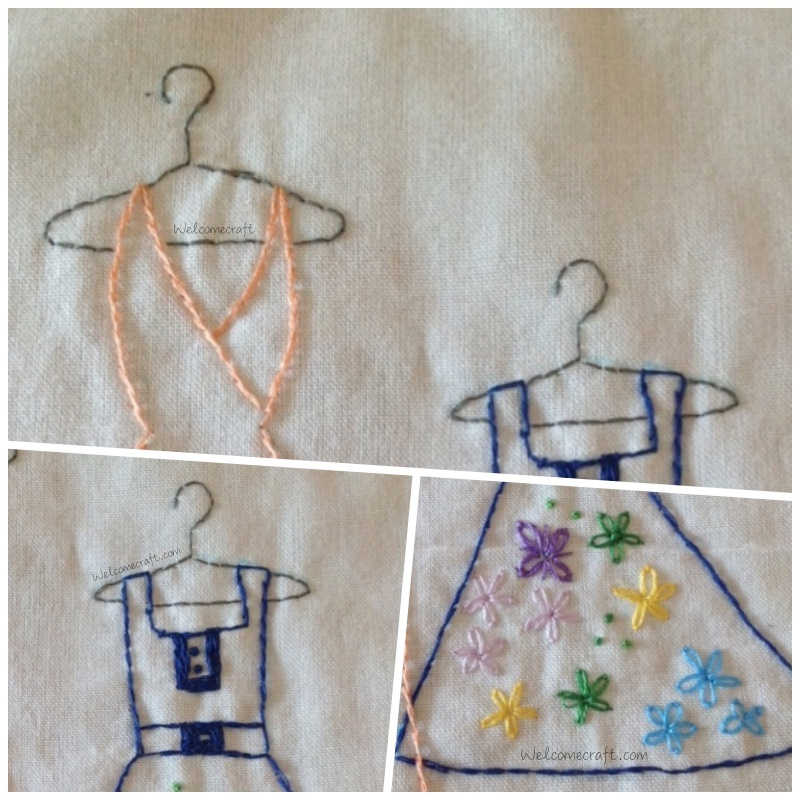 Hand Made Richly Embroidered Dresses