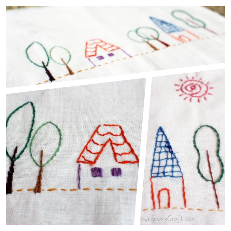 Embroidery Country House