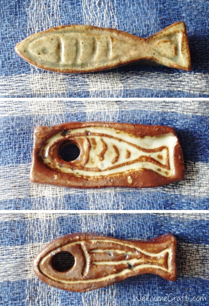 Hand Made Ceramic Fish