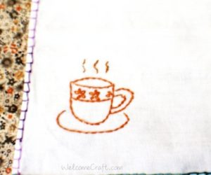 DIY Small Coffee Cup Coaster