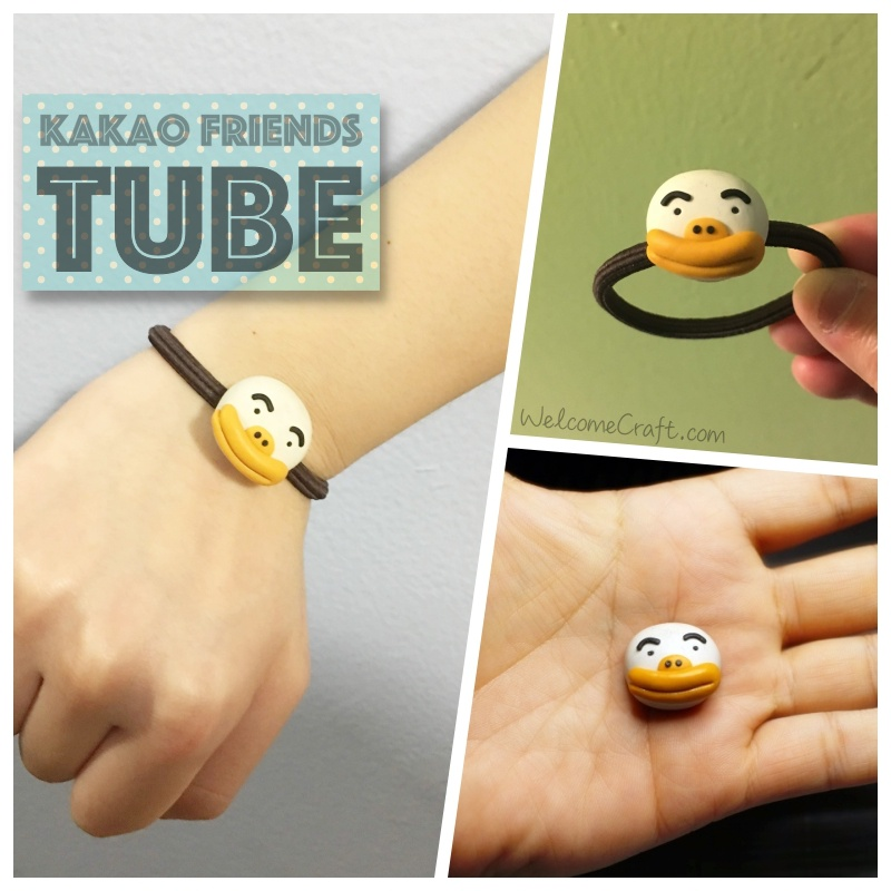 Kakao Friends Tube Clay Art