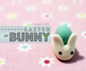 Clay Easter Bunny Tutorial Instruction