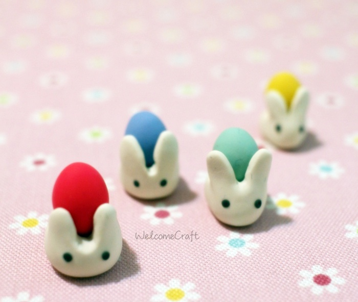 Clay Easter Bunny Step By Step Tutorial Instruction