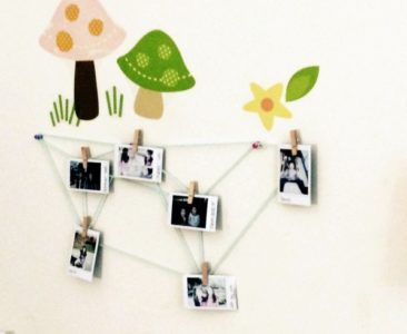 DIY Geometric Picture Display
