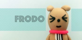 Clay Kakao Friends Frodo Step By Step Tutorial Instruction