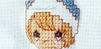 Little Girl Cross Stitch Pattern