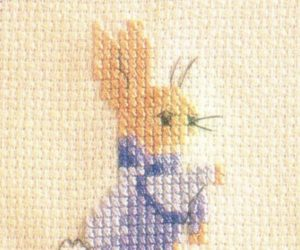 Peter Rabbit Cross Stitch and Pattern
