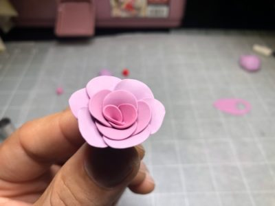 Clay Rose Step By Step Tutorial Instruction