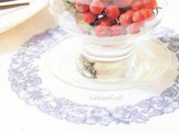 Table Cover Cross Stitch Pattern