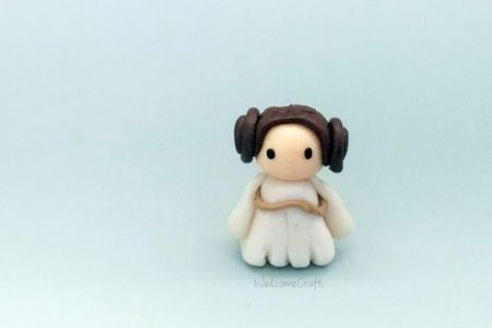 Clay Princess Leia