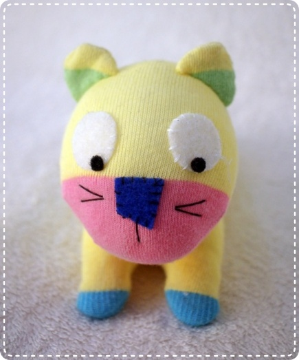 Handmade Sock Doll Dog