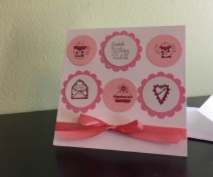 DIY Sweet Birthday Card