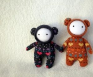 Handmade Space Dolls