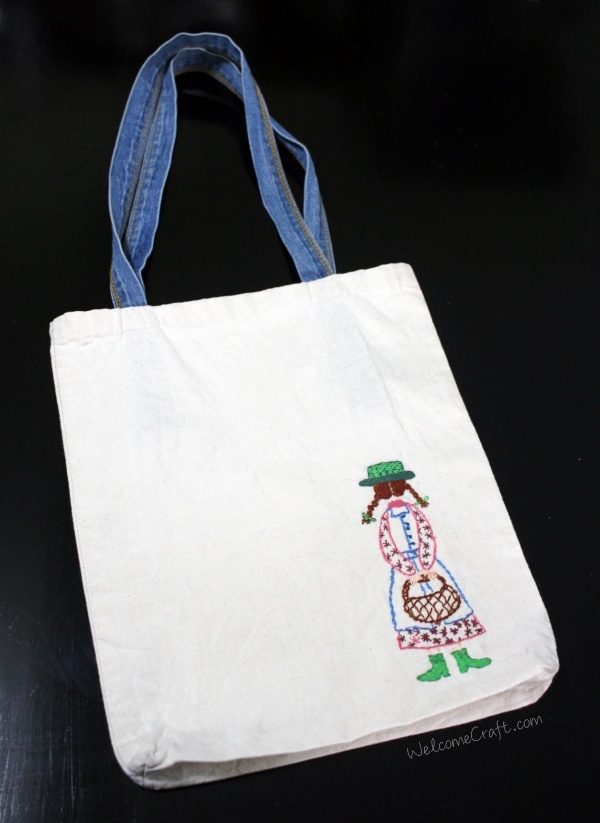 Handmade Embroidery Ecobag